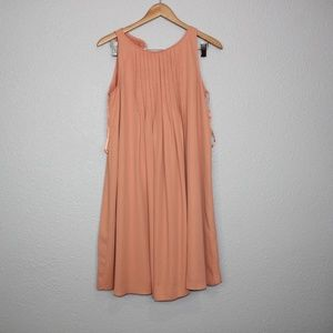 Nanette Nanette Lepore Light Orange Flowy Dress